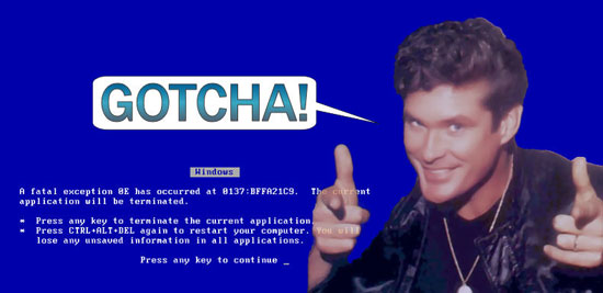 david hasselhoff does not approve of hotlinking